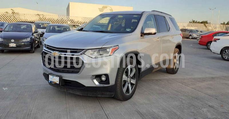 Chevrolet Traverse LT Piel usado (2019) color Plata Dorado precio $569,900