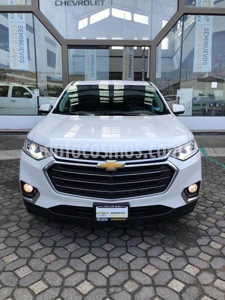 Chevrolet Traverse LT Piel usado (2019) color Blanco precio $630,000