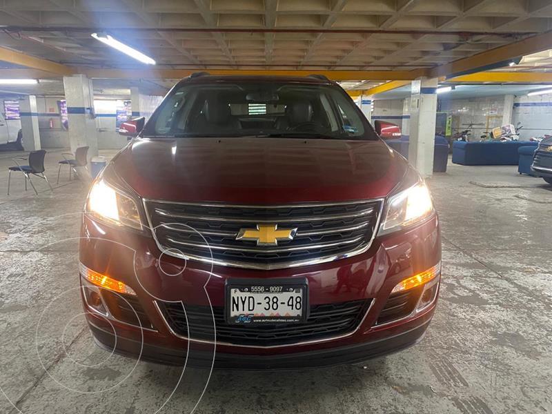 Chevrolet Traverse LT usado (2015) color Rojo Tinto precio $276,900