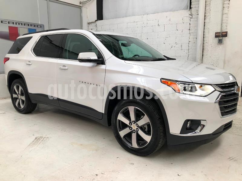 Chevrolet Traverse LT Piel usado (2019) color Blanco precio $633,000