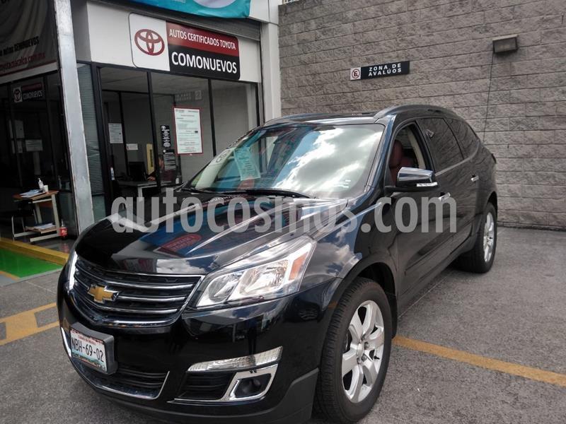 Chevrolet Traverse LT 7 Pasajeros usado (2017) color Negro precio $380,000