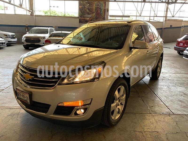 Chevrolet Traverse Paq B usado (2017) color Plata precio $369,900