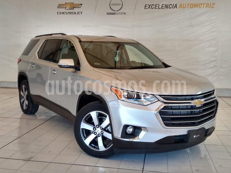 Chevrolet Traverse LT 7 Pasajeros usado (2020) color Plata Brillante precio $770,000