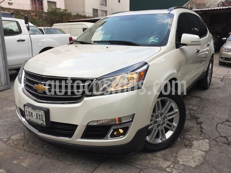 Chevrolet Traverse LT 7 Pasajeros usado (2015) color Blanco Diamante precio $319,950