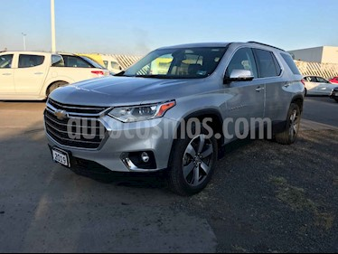 Chevrolet Traverse 5p LT V6/3.6 Aut 7/Pas usado (2019) color Plata precio $509,900