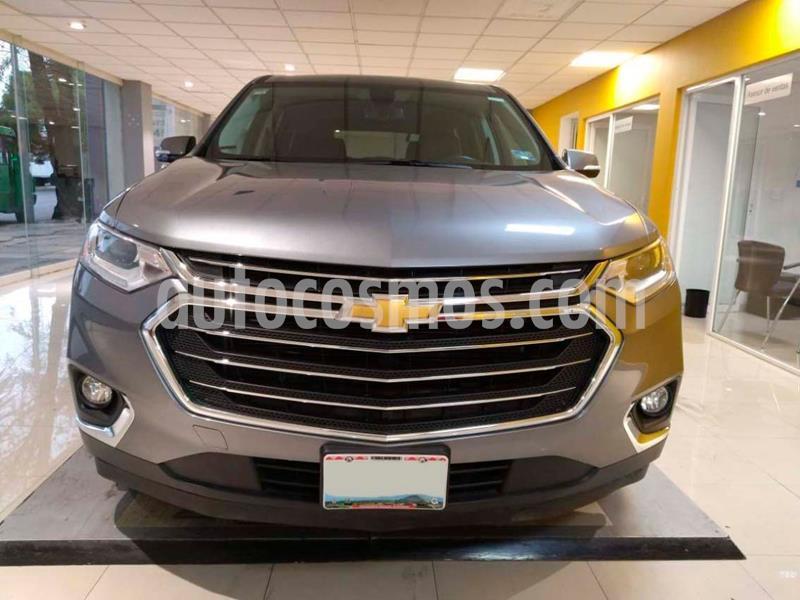 Chevrolet Traverse LT Piel usado (2019) color Gris precio $649,000