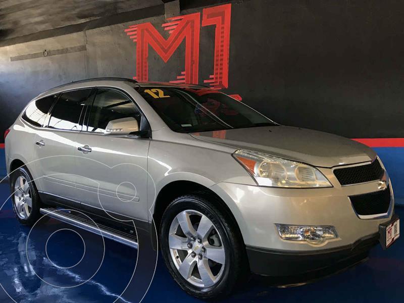 Chevrolet Traverse Paq C usado (2012) color Dorado precio $194,000