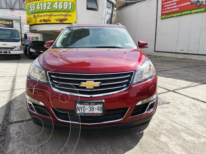 Chevrolet Traverse LT usado (2015) color Rojo precio $276,899