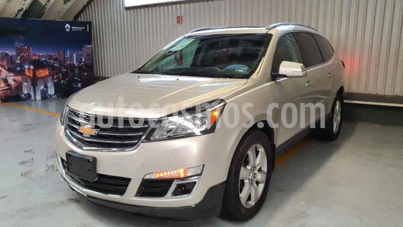 Chevrolet Traverse LT 7 Pasajeros usado (2016) color Dorado precio $355,000
