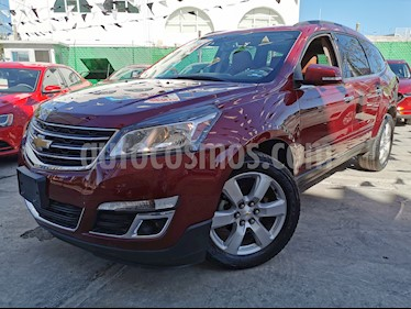 Chevrolet Traverse LT usado (2016) color Rojo Tinto precio $335,000