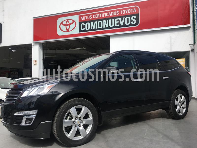 Chevrolet Traverse LT 7 Pasajeros usado (2017) color Negro precio $350,000