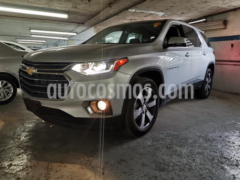 Chevrolet Traverse Paq B usado (2020) color Plata precio $699,000