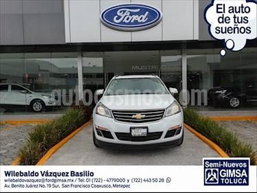 Chevrolet Traverse LT Piel usado (2016) color Blanco precio $354,000
