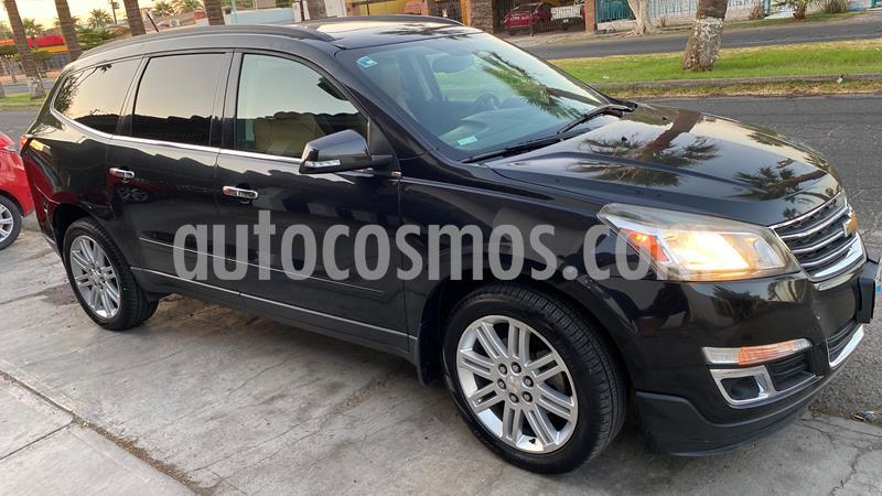 Chevrolet Traverse LT Piel usado (2013) color Negro precio $215,000