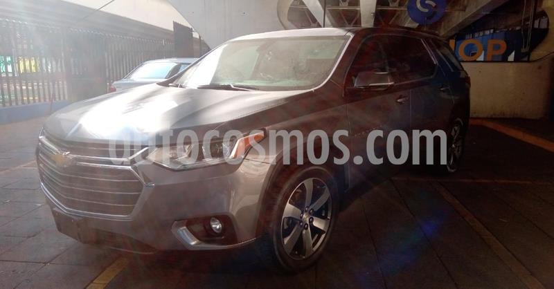 Chevrolet Traverse LT Piel usado (2019) color Gris precio $489,900