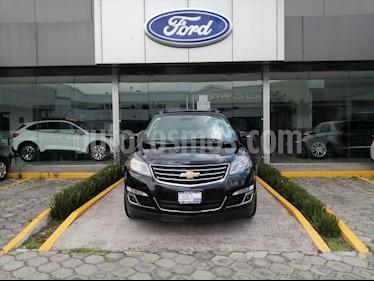 Chevrolet Traverse LT Piel usado (2017) color Negro precio $366,000