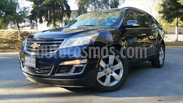Chevrolet Traverse 5P LT TA A/AC. AUT. PIEL QC DVD GPS ABS. RA-20 usado (2017) color Azul precio $399,000