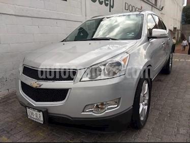 Chevrolet Traverse 5P LT2 V6/3.6 AUT 7/PAS usado (2012) color Plata precio $215,000