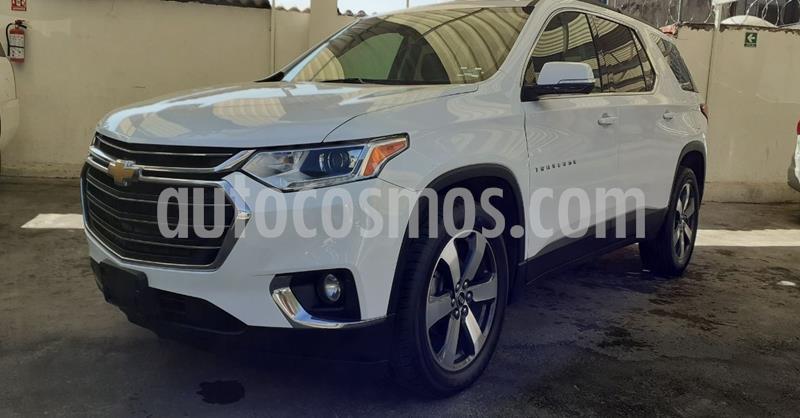 Chevrolet Traverse LT Piel usado (2019) color Blanco precio $509,900