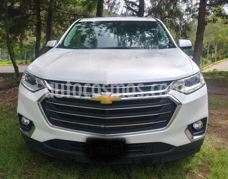 Chevrolet Traverse LT 7 Pasajeros usado (2018) color Blanco precio $530,000
