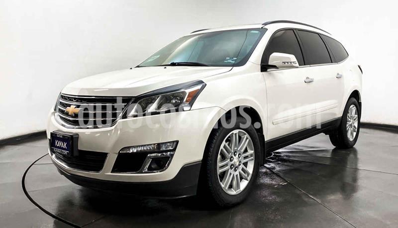 Chevrolet Traverse LT 7 Pasajeros usado (2014) color Blanco precio $317,999