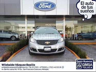Chevrolet Traverse LT Piel usado (2017) color Plata precio $404,000