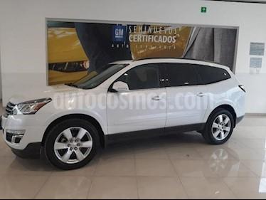 Chevrolet Traverse 5P LT TA A/AC. AUT. PIEL QC DVD GPS ABS. RA-20 usado (2017) color Blanco precio $422,900