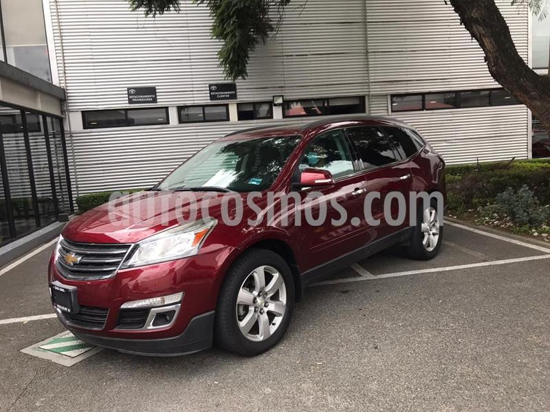 Chevrolet Traverse LT 7 Pasajeros usado (2016) color Rojo precio $338,000