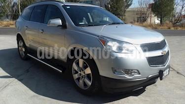 Chevrolet Traverse 5P TA A/AC. AUT. PIEL QC DVD ABS RA-20 usado (2012) color Plata precio $187,000