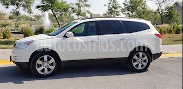 Chevrolet Traverse LT Piel usado (2012) color Blanco precio $200,000