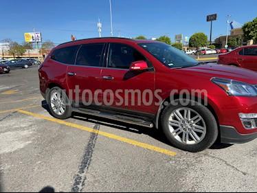 Chevrolet Traverse LT Piel usado (2014) color Rojo Tinto precio $255,000