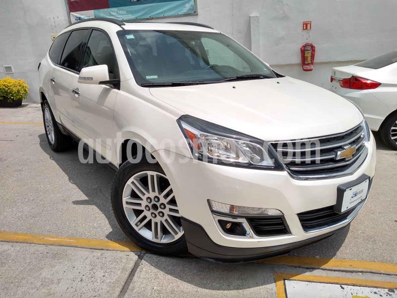 Chevrolet Traverse LT 7 Pasajeros usado (2015) color Blanco precio $292,000