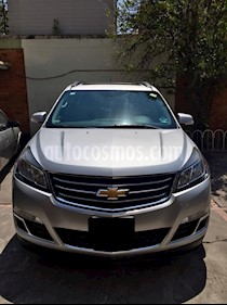 Foto venta Auto usado Chevrolet Traverse Paq B (2015) color Plata precio $315,000