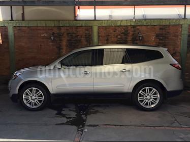 Foto venta Auto usado Chevrolet Traverse Paq B (2015) color Plata precio $335,000