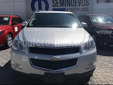Foto venta Auto usado Chevrolet Traverse Paq B (2012) color Plata precio $215,000