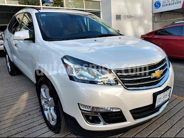 Foto venta Auto usado Chevrolet Traverse Paq B (2017) color Blanco precio $465,000