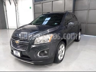 Foto venta Auto usado Chevrolet Trax 5p LTZ L4/1.8 Aut (2016) color Gris precio $260,000