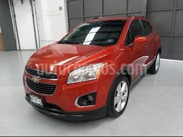 Foto venta Auto usado Chevrolet Trax 5p LTZ L4/1.8 Aut (2014) color Naranja precio $210,000