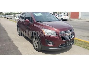 Foto venta Auto usado Chevrolet Trax LS (2016) color Rojo precio $195,000