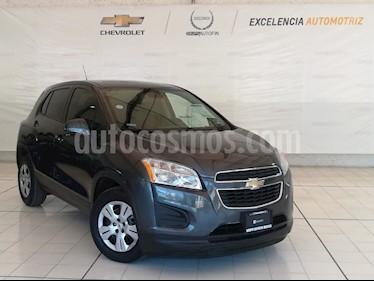 Foto venta Auto usado Chevrolet Trax LS (2015) color Gris Oxford precio $179,000