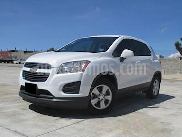 Foto venta Auto usado Chevrolet Trax LS (2015) color Blanco Galaxia precio $190,000