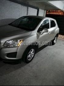 Foto venta Auto usado Chevrolet Trax LT Aut (2014) color Gris Metalico precio $165,000