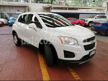 Foto venta Auto usado Chevrolet Trax LT (2014) color Blanco Galaxia precio $194,000