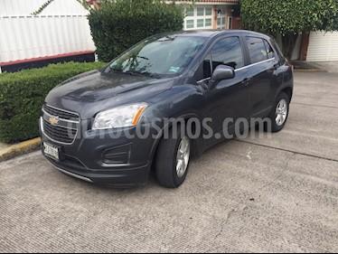 Chevrolet Trax LT usado (2015) color Gris Oxford precio $185,000