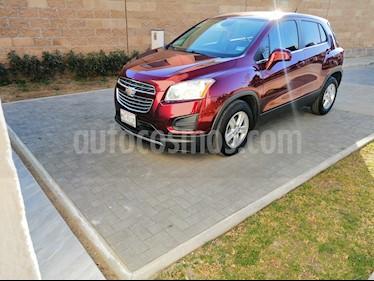 Foto venta Auto usado Chevrolet Trax LT (2016) color Rojo Tinto precio $218,000