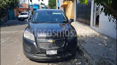 Foto venta Auto usado Chevrolet Trax LT (2016) color Gris precio $209,000