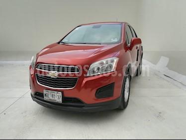 Foto venta Auto usado Chevrolet Trax LT (2014) color Naranja Metalico precio $180,000