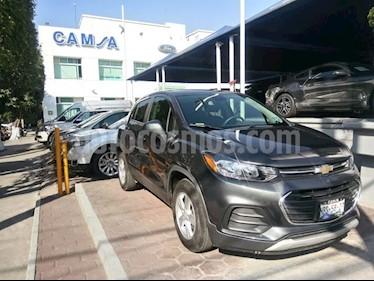 Foto venta Auto usado Chevrolet Trax LT (2017) color Gris precio $264,900