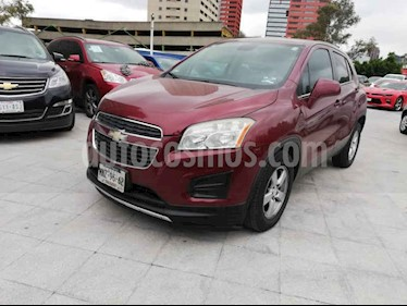 Foto venta Auto usado Chevrolet Trax LT (2013) color Rojo precio $165,000