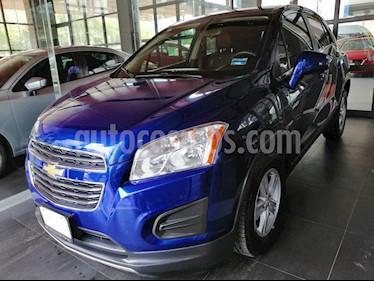 Foto venta Auto usado Chevrolet Trax LT (2016) color Azul precio $213,000